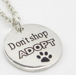 Don't shop adopt rond ketting
