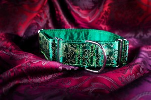 Martingale galgo halsband green alvaris